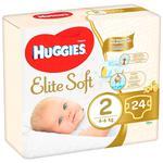 Підгузники Huggies Elite Soft 2 4-6кг 25шт