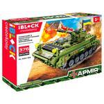 Игрушка Iblock Конструктор Военная техника 376 деталей