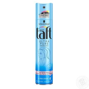 Лак для волос Taft Ultra Pure 250мл