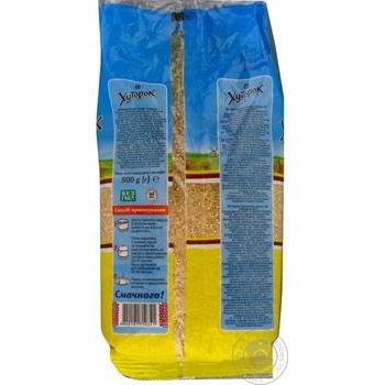 Крупа Хуторок Артек пшеничная 800г - купить, цены на Novus - фото 4