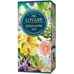 Tea Lovare Cleopatra's night green packed 24pcs 48g