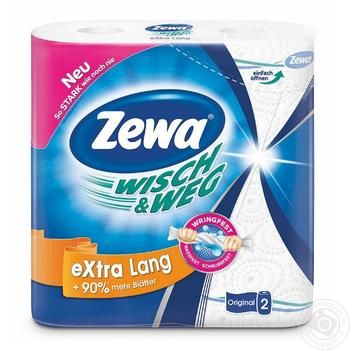 Zewa Wisch&Weg Kitchen Paper Towels 2rolls - buy, prices for Novus - image 3