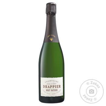 Шампанское Drappier Brut Nature Zero Dosage белое 12% 0,75л - купить, цены на СитиМаркет - фото 1