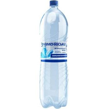 Мінеральна вода Знаменівська природна лікувально-столова газована 2л