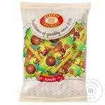 Конфеты Бисквит-шоколад глазированные ананасные 200г - купить, цены на Ашан - фото 1