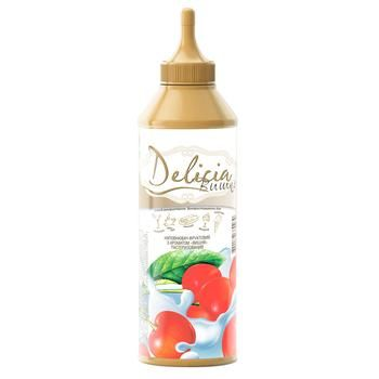 Delicia Cherry Topping 600g