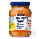 Пюре Карапуз из яблок моркови и айвы детское с 4 месяцев 200г