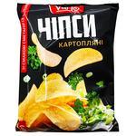 Чипсы Varto со вкусом сметаны с зеленью 110г