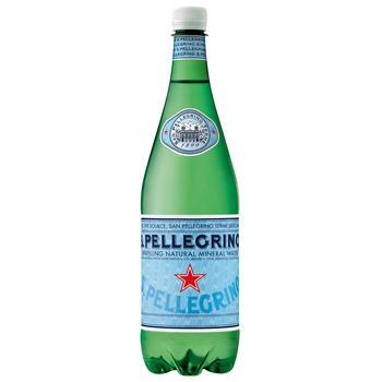 Вода минеральная San Pellegrino газированная 1л