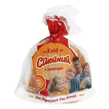 Хліб Булкін Сімейний 450г - купить, цены на Ашан - фото 1