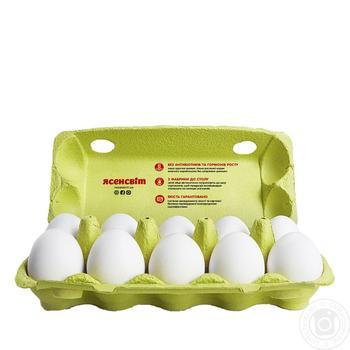 Яйца куриные Ясенсвіт С1 10шт - купить, цены на Novus - фото 3