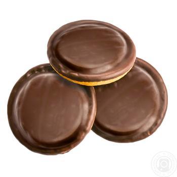 Печиво (ваг) смак апельсину Деліція - купить, цены на Восторг - фото 1