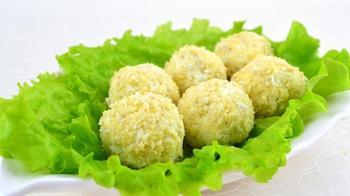 Рыбный салат «Рафаэлло»