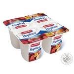 Йогурт Ehrmann Клубника 0,1% 100г - купить, цены на Ашан - фото 1