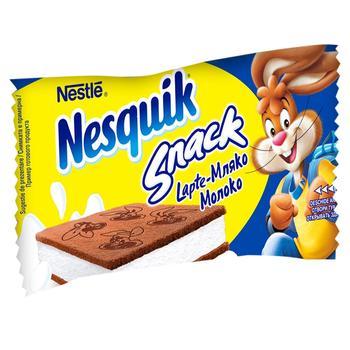 Пирожное бисквитное Nesquik с молочною начинкой 26г