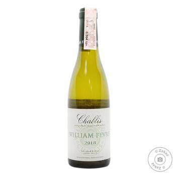 Вино Domaine William Fevre Chablis біле сухе 12.5% 0.375л