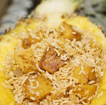 Гавайский печеный рис