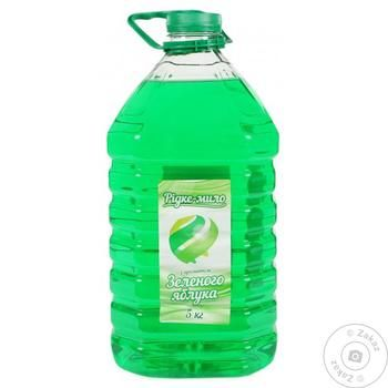 Liquid Soap with Green Apple Flavor 5kg - buy, prices for Tavria V - image 1