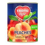 Персик Tropic life половинки в сиропі 850мл