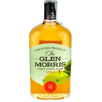 Glen Morris Apple strong alcoholic drink 30% 0,5l - buy, prices for Novus - image 1