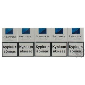 Сигареты Parliament Aqua Super Slims - купить, цены на Восторг - фото 3