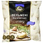 Polissia Bogatyrskie Premium Dumplings 500g - buy, prices for CityMarket - photo 1
