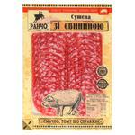 Ковбаса Ранчо Сушена зі свининою сирокопчена першого гатунку 75г