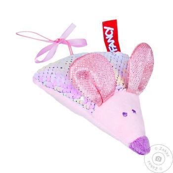 Іграшк м`яка Мишеня сирник - купить, цены на МегаМаркет - фото 1