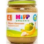 Пюре Hipp фруктовое яблоки с бананом 125г
