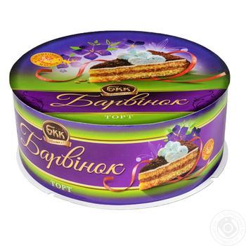 Торт БКК Барвинок 450г