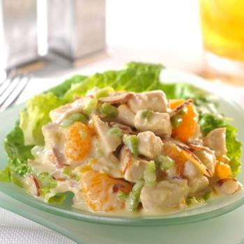 Куриный салат с апельсинами