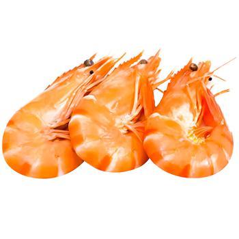 Seafood shrimp frozen
