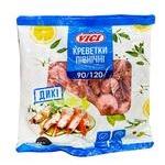 Креветки Vici в панцирі варено-морожені 90/120 500г