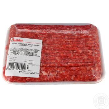 Фарш говяжий котлетный - купить, цены на Ашан - фото 1