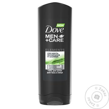 Gel Dove with sage for shower 250ml - buy, prices for Novus - image 1