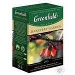 Greenfield Barberry Garden black tea 100g