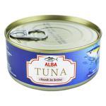 Тунец Alba Food целый в собственном соку 150г