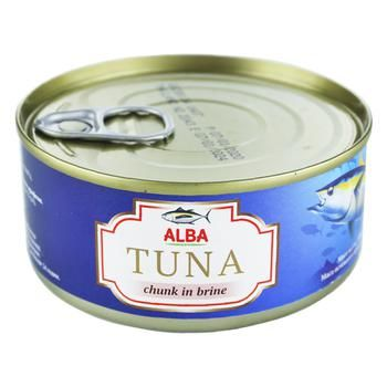 Alba Food Whole Tuna in Its Own Juice 150g - buy, prices for Auchan - photo 1