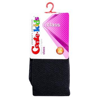 Колготки детские Conte Kids Class графит размер 128-134 7С-31192 - купить, цены на Фуршет - фото 1