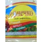Oil Sonechko sunflower refined 5000g plastic bottle Ukraine