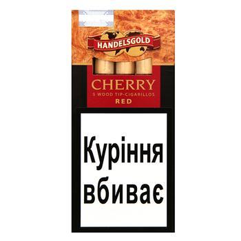 Сигарили Handelsgold  Wood Tip-Cigarillos Cherry 5шт