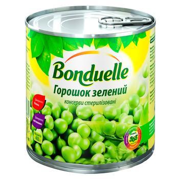 Горошек Бондюэль зеленый консервированный 425мл