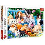 Пазлы Trefl Собаки в саду 1000 элементов