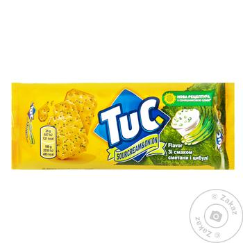 Tuc With Onion And Sour Cream Salt Cracker - buy, prices for Furshet - image 1