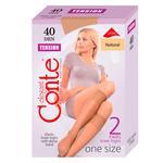 Гольфи Conte Elegant Tension 40 ден жіночі натуральні р.23-25 2 пари