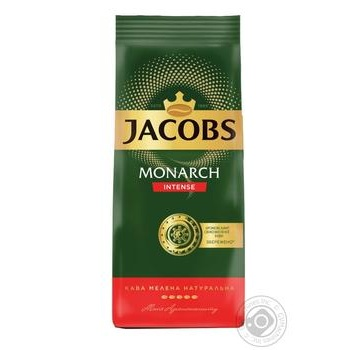 Jacobs Monarch Intense ground coffee 225g - buy, prices for Furshet - image 1
