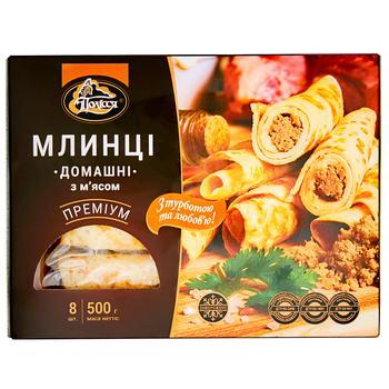 Млинці Полісся Домашні з мясом 500г - купити, ціни на CітіМаркет - фото 2