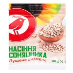 Auchan sunflower seeds peeled roasted 40g