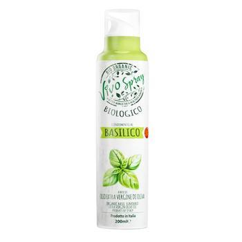 Mantova Extra Virgin Unrefined Olive Oil Spray with Basil Flavor 200ml