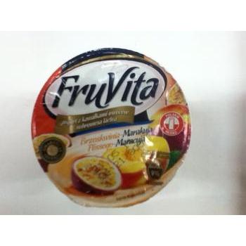 Йогурт Фрувита персик 400г